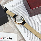 Мужские часы Brücke J025 Black-Cuprum, фото 5