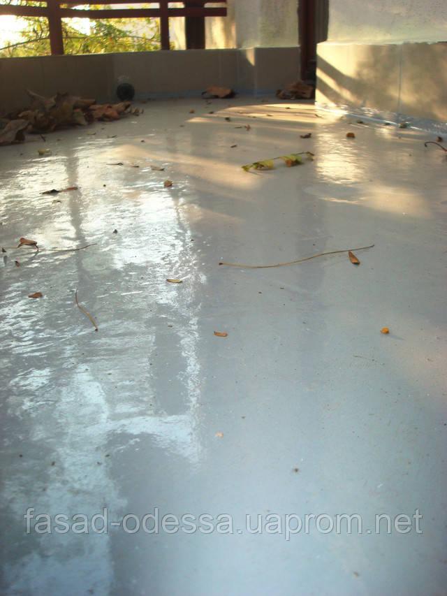 устранение протечки балкона