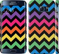"Чехол на Samsung Galaxy S6 Edge G925F Шеврон v1 ""1056c-83"""
