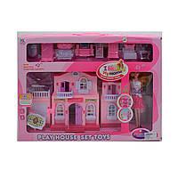Дом для кукол 6665 с куклой и мебелью