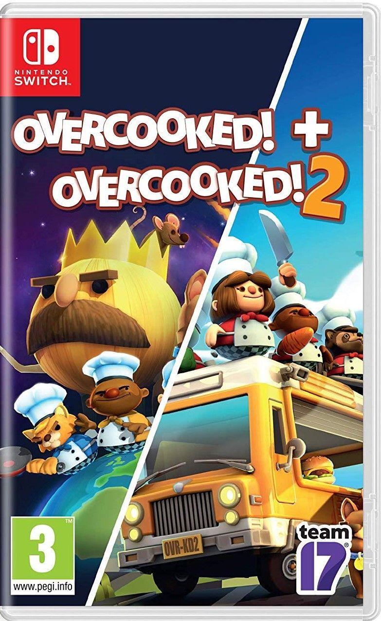 Overcooked + Overcooked 2 (російські субтитри) Nintendo Switch