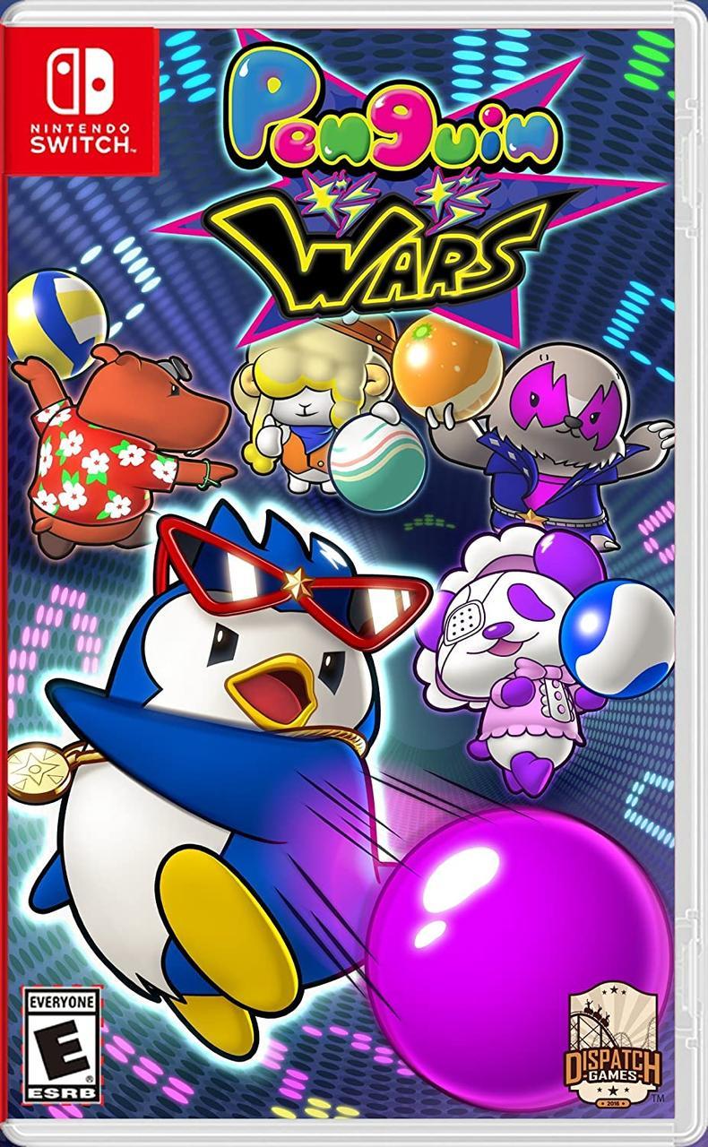 Penguin Wars (англійська версія) Ninteno Switch
