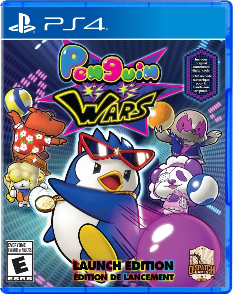 Penguin Wars (англійська версія) PS4