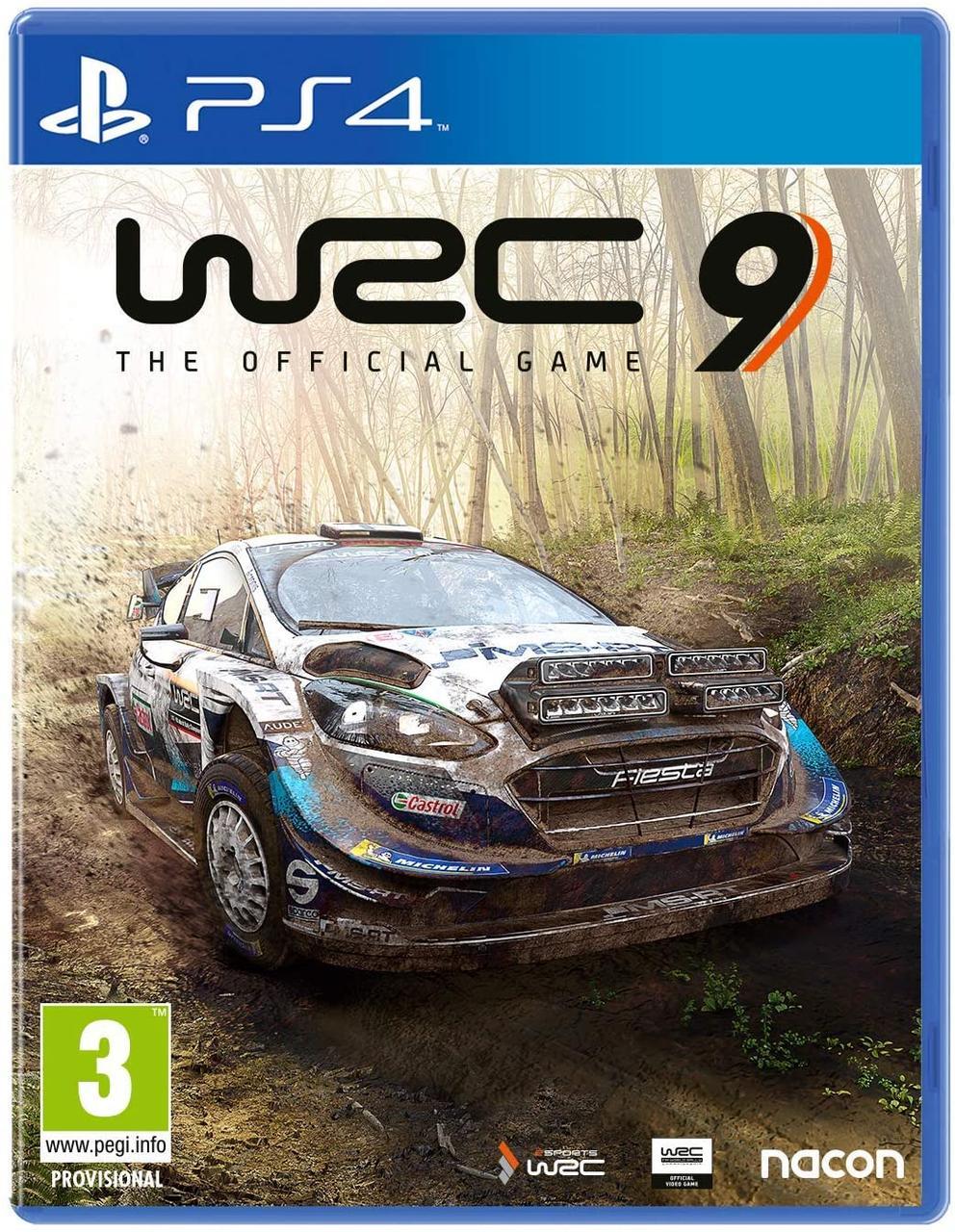 WRC 9 (англійська версія) PS4