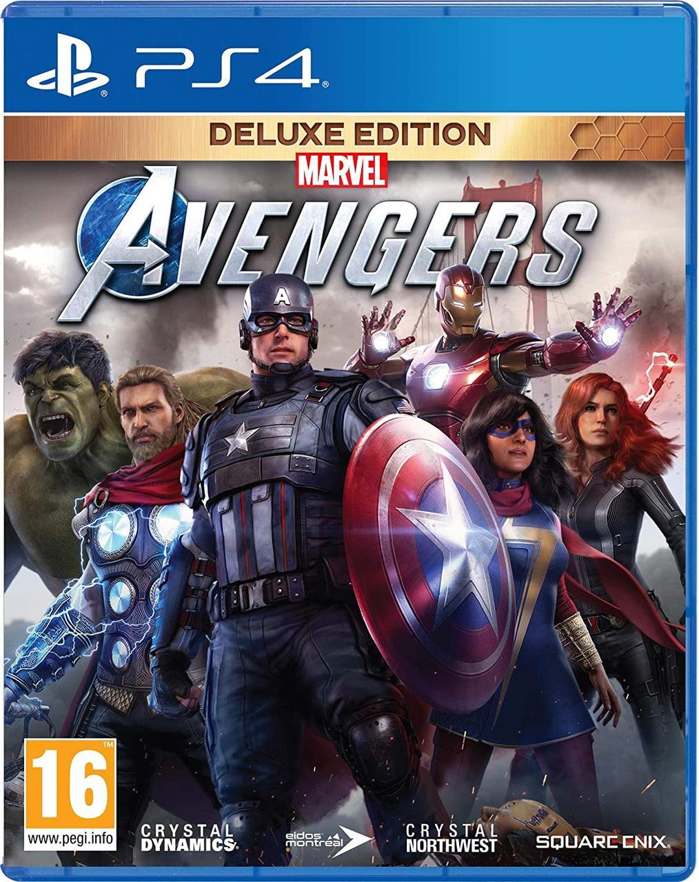 Marvel Avengers Deluxe Edition (англійська версія) PS4