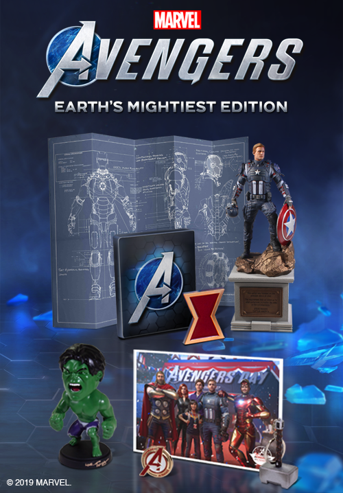 Marvel Avengers Earths Mightiest Edition (англійська версія) PS4