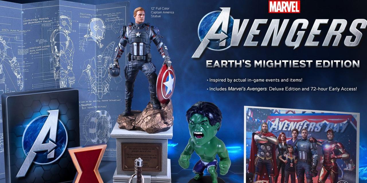 Marvel Avengers Earths Mightiest Edition (англійська версія) PS4 2