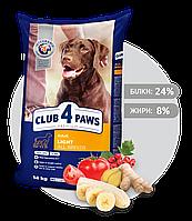 Клуб 4лапы Премиум класса для собак Контроль веса - 14 кг