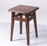 Табурет деревянный кухонный с квадратным сидением