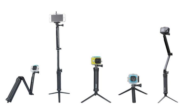 Монопод 3-way Kingma для екшен-камер