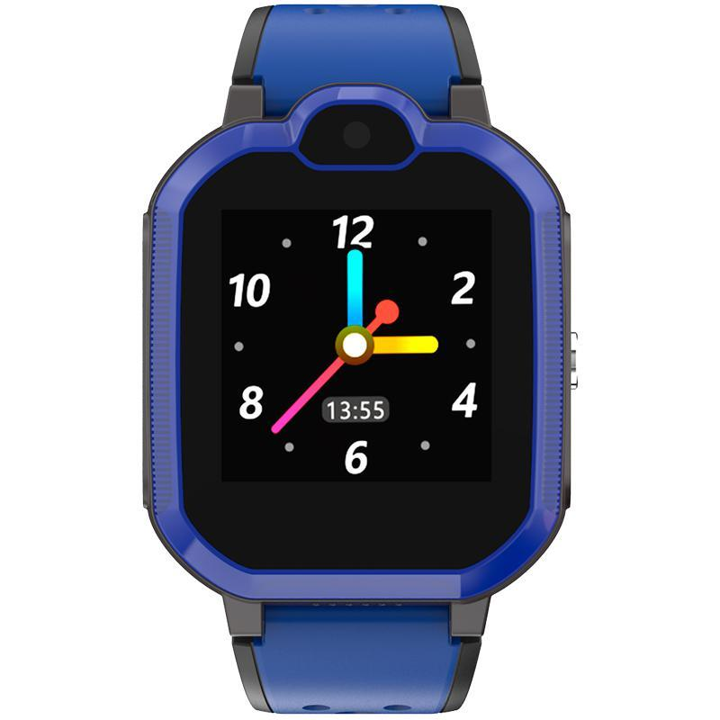 Детские умные часы с GPS трекером Gelius Pro GP-PK002 Blue 4G + функция видеозвонок