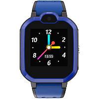 Детские умные часы с GPS трекером Gelius Pro GP-PK002 Blue 4G + функция видеозвонок, фото 1