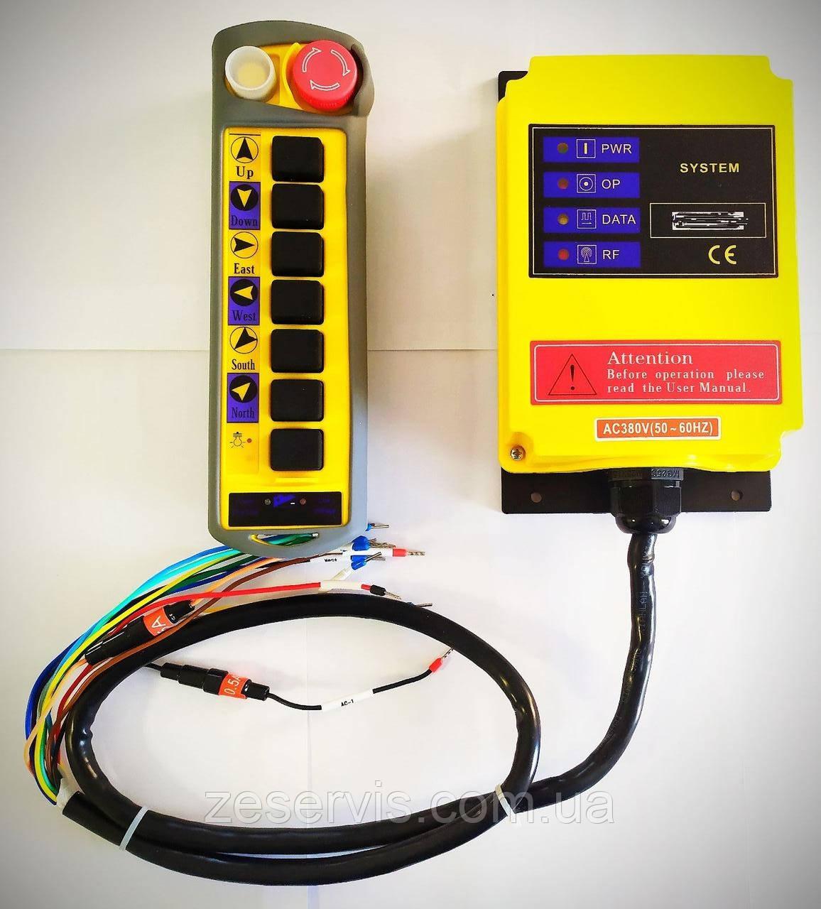 Пульт керування безпровідний крановий (пульт радіокерування тельферний) (1 передавач)