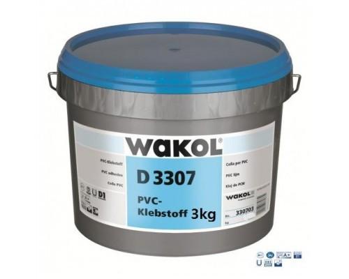 Клей для ПВХ покрытий Wakol D3307 (Германия)