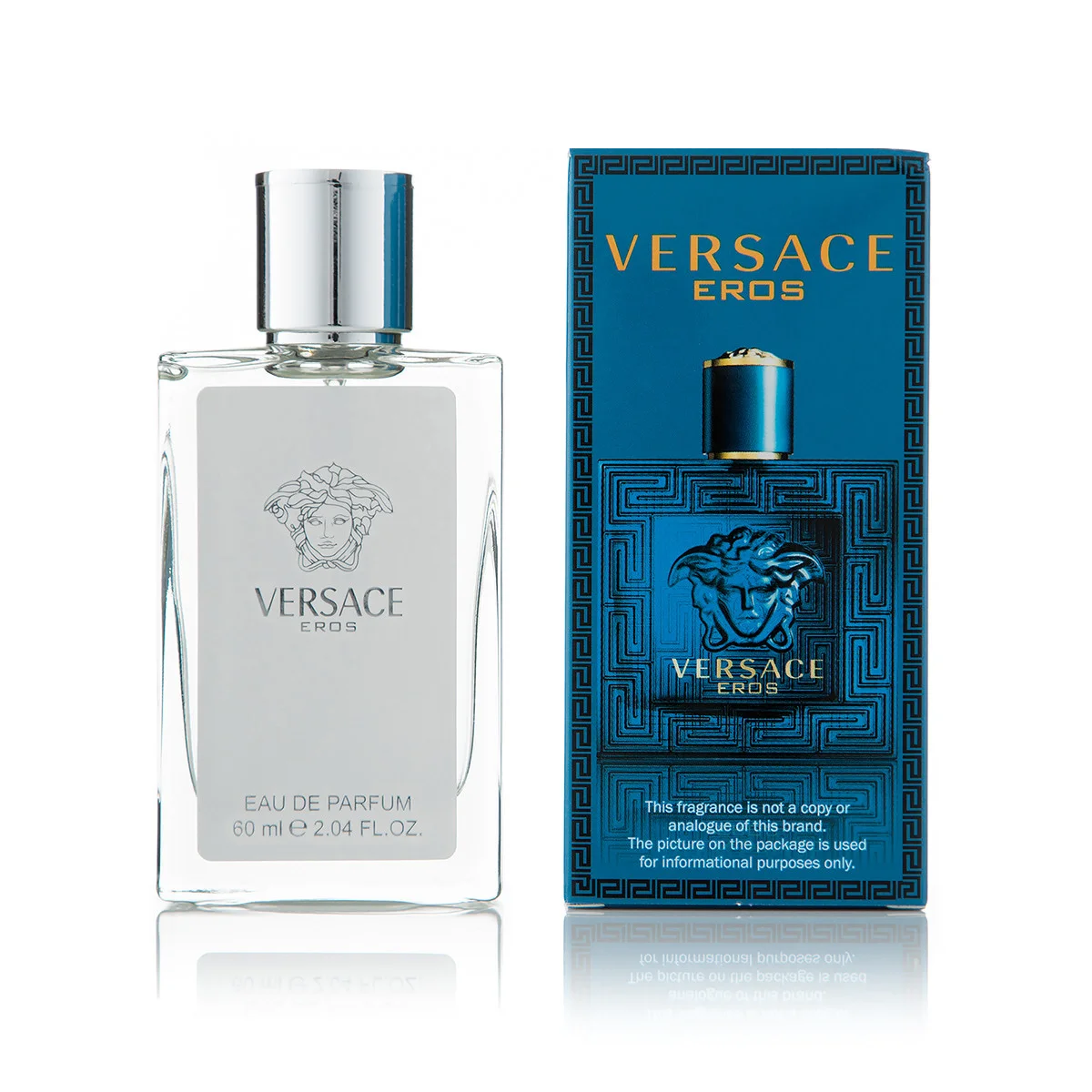 Мини - парфюм 60 мл для мужчин Versace Eros Pour Homme