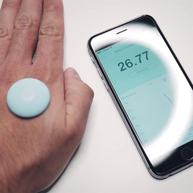 Детский смарт термометр Xiaomi Miaomiaoce ZenMeasure Smart (MMC-T201-1)