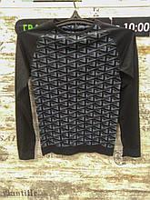 Термокофта унісекс Crivit Sports - розмір S/М, Чорний/Сірий