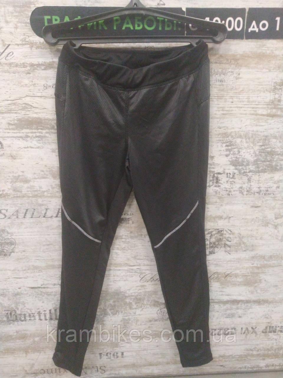 Велоштаны Crivit Sports - размер S, Чёрный/Серый