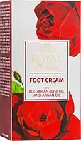 Крем для ніг BioFresh Royal Rose з олією троянди та аргановою олією 75 мл