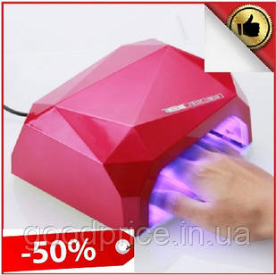Лампа для маникюра Diamond 36 Вт, гибридная гель-лампа для ногтей, сушки лака