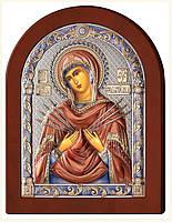 """Ікона """"Семистрільна ікона Божої Матері"""" (160х125мм.)"""