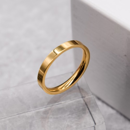 Обручку ювелірна сталь американка золото 3 мм для гравіювання 176239
