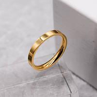 Обручку ювелірна сталь американка золото 3 мм для гравіювання 176239, фото 1