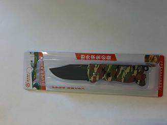 Нож раскладной Хаки в блистере