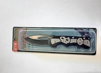 Нож раскладной Череп в блистере