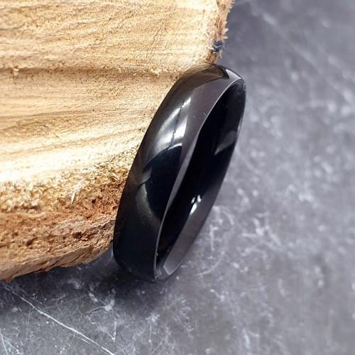 Кольцо унисекс из хирургической стали 4 мм под гравировку 176240