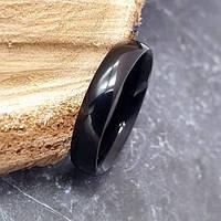 Кольцо унисекс из хирургической стали 4 мм под гравировку 176240, фото 1
