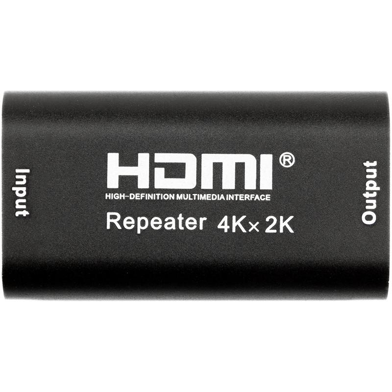 HDMI-ретранслятор (усилитель) PowerPlant 1.4V до 40 м, 4K/30hz (HDRE1)
