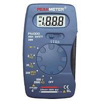 Мультиметр цифровий кишеньковий PROTESTER PM300