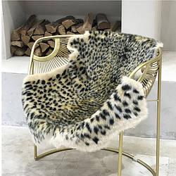 Ковёр для дома с леопардовым принтом. Модель-6224
