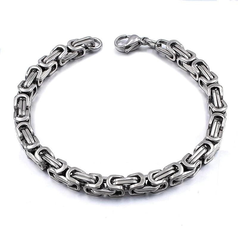 Мужской византийский браслет