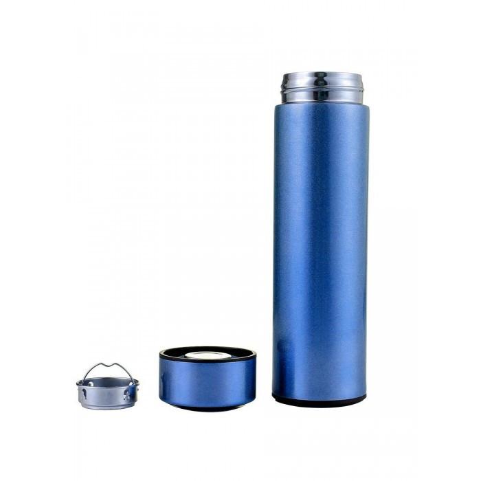 Бутылка термос с индикацией температуры для воды напитков стальной 500 2