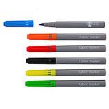 Набор маркеров для ткани Santi 6 шт  код: 390489, фото 2