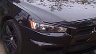 Реснички на Mitsubishi Lancer X (2007-)