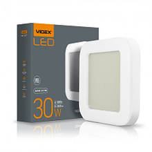 Світильник 30W LED ART (ЖКХ) квадратний 5000K 220V Videx
