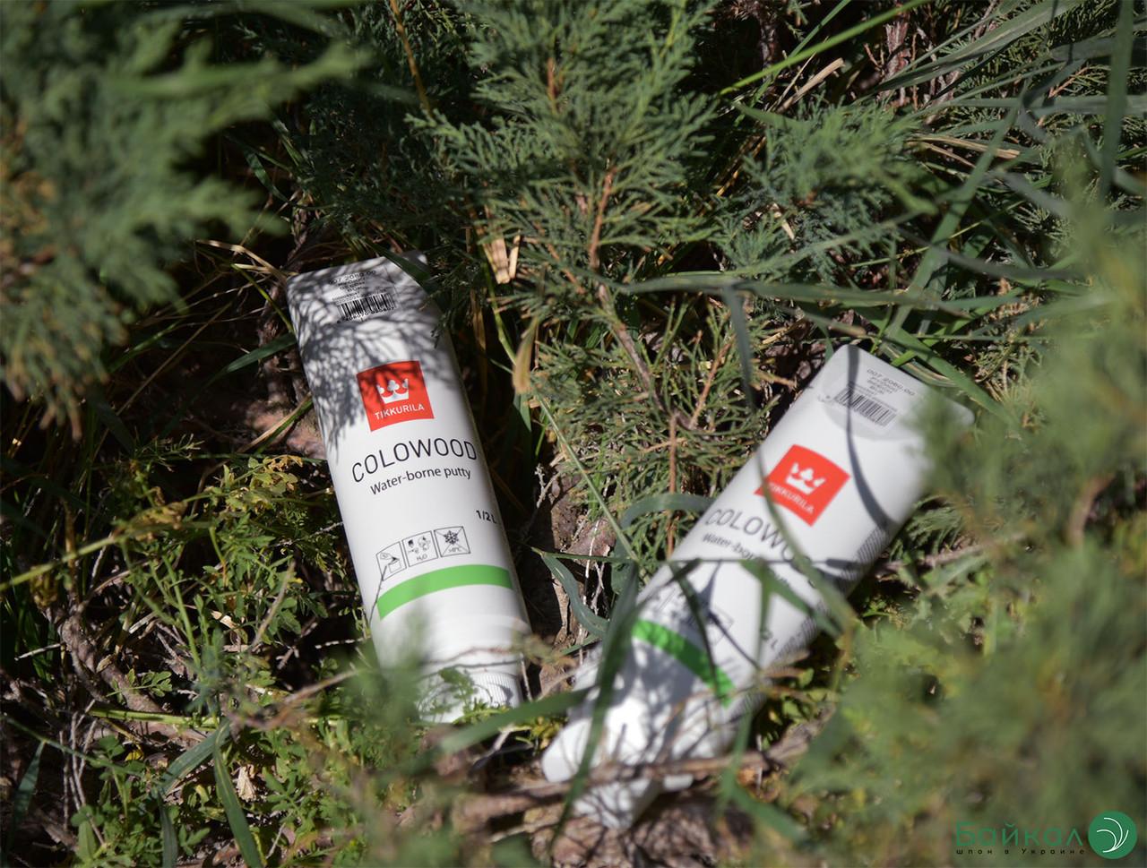 Шпаклевка для дерева Colowood Puukitti Бук – Tikkurila (банка 0,5 л)