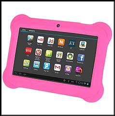 """Детский планшет Ainol Q88  детский розовый 7"""" дисплей  с чехлом"""