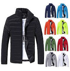 Стильна чоловіча куртка весна-осінь 2021 hb10707a розмір m, l, xl