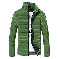 Стильна чоловіча куртка весна-осінь Hb10707a Розмір XL, хакі