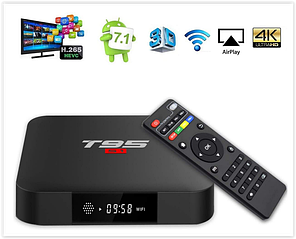 Смарт приставка ТВ Android 7.1 TV Box   YAGALA T95 S1  1GB RAM 8GB ROM Amlogic S905W
