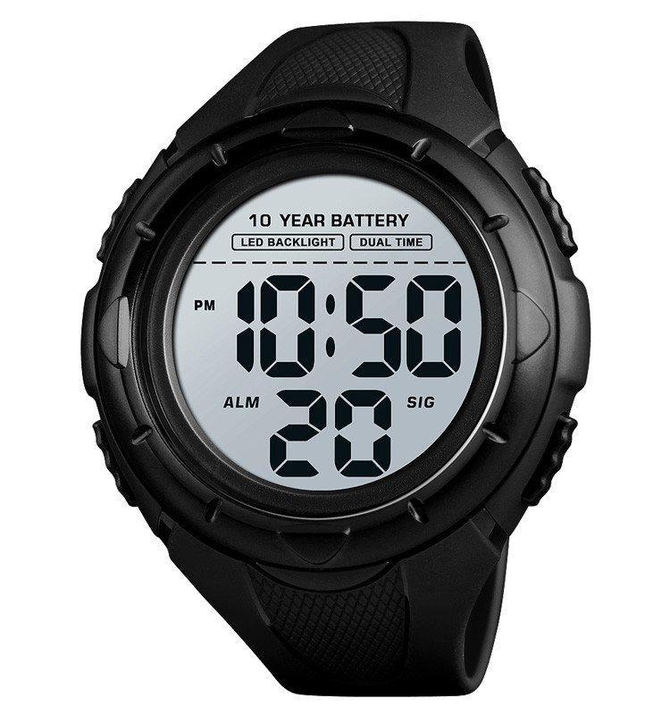 Чоловічі наручні годинники Skmei 1563 чорні