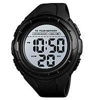 Чоловічі наручні годинники Skmei 1563 чорні, фото 1