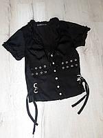 Блузка атласная  для девочки 164 рост