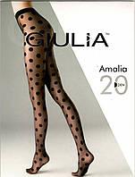 Класичні колготки в горошок AMALIA 20 den model 12