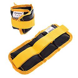 Обважнювачі для рук і ніг Zelart UR ZA-2072-1 (2 x 0,5 кг)