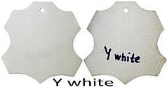 Кожа стелечная (подкладочная) воскованая цвет белый (Y white)